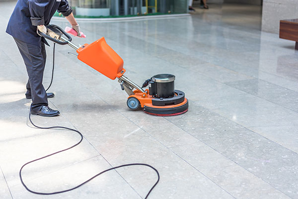 business floor cleaning service