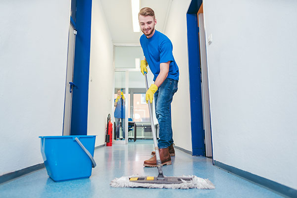 commercial janitorial cleaning